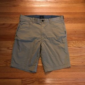 Mens JCrew kaki Shorts